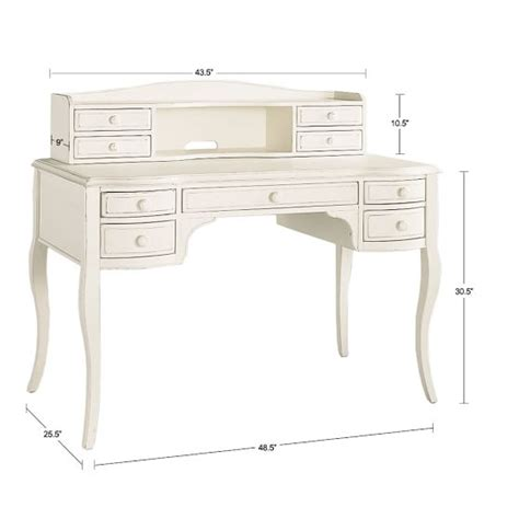 Lilac Desk Hutch Pbteen Pb Desk