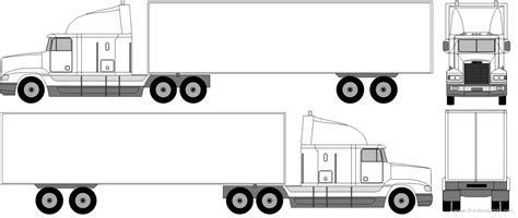 Trailer Front Clipart 2131508 Trailer Templates Free