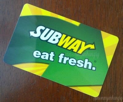 Subway Gift Card Giveaway - 36 best images about subway s on pinterest places to eat subway cookies and