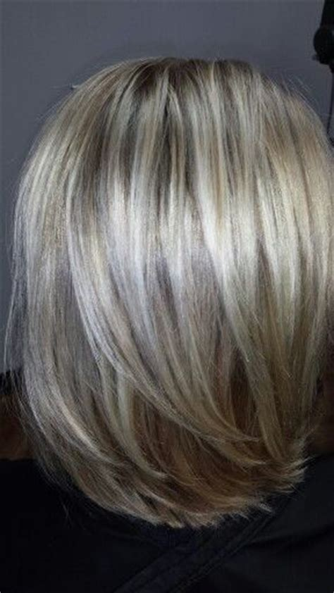 gray dark dark low lights foils hair highlights and lowlights short hairstyle 2013