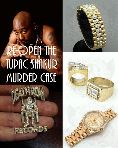 Tupac's Jewelry worn for the All Eyez On Me Photo Shoot photographed by Ken Nahoum, 1996   Truth