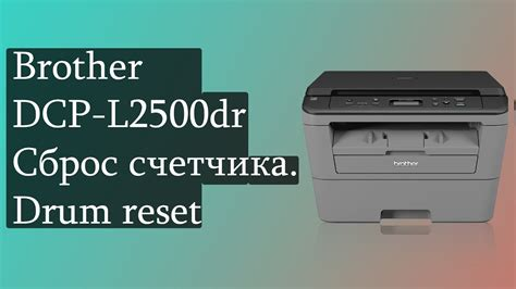 brother dcp j125 ink reset brother dcp l2500dr сброс счетчика drum reset сброс