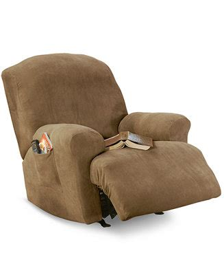 Sure Fit Stretch Pique Recliner Slipcover by Sure Fit Stretch Pique Medium Recliner Slipcover