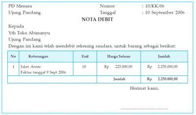 Nota Penjualan 2 Rangkap dokumen sumber pencatatan dan mekanisme debit kredit ss