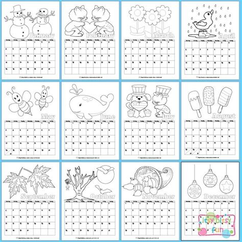 calendar template for children 25 unique calendar for ideas on