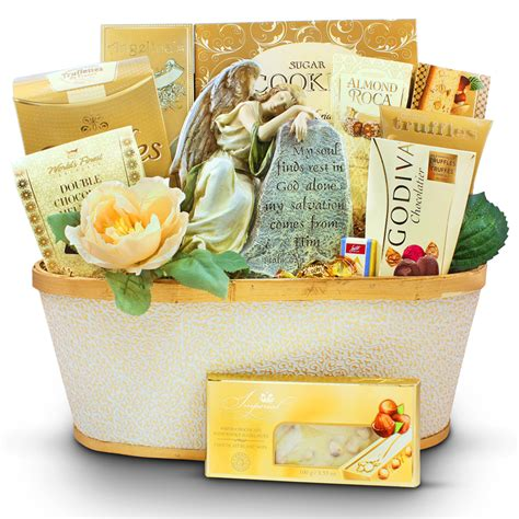 Sympathy Baskets by From Above Sympathy Gift Basket Ontariogourmet
