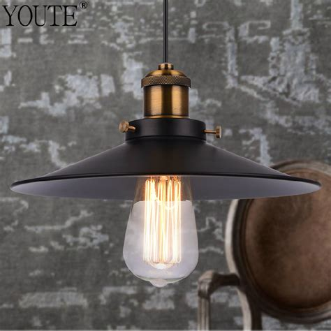 Lighting Fixture Store Aliexpress Buy Loft Retro Industrial Iron Vintage Ceiling Light Chandelier Pendant L