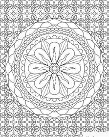 complicated coloring pages for adults complex patterns coloring pages