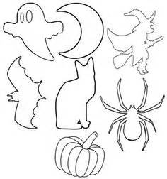 Halloween Cut Outs Witch Pattern Use The Printable Outline For Crafts