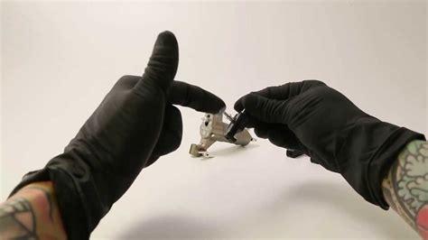 tattoo machine lube symbeos rotary tattoo system slide lubrication youtube