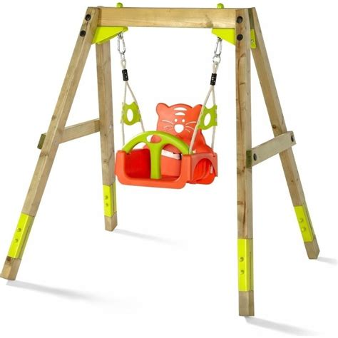 wooden kids swing plum outdoor toddler kids wooden growing swing set buy