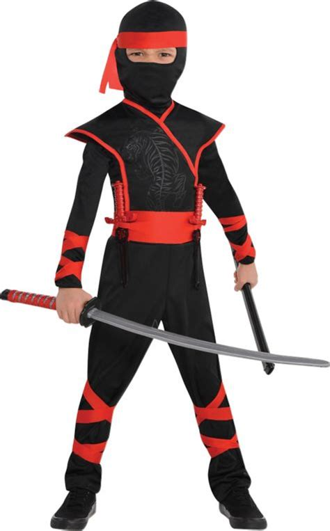 ninja costume pattern for adults toddler boys shadow ninja costume party city cute