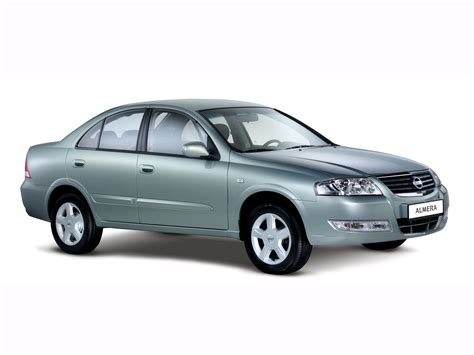 2006 nissan almera classic b10 pictures information