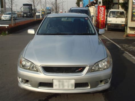 Toyota Altezza 2006 Toyota Altezza Rs200z Sxe10 For Sale Car On Track Trading