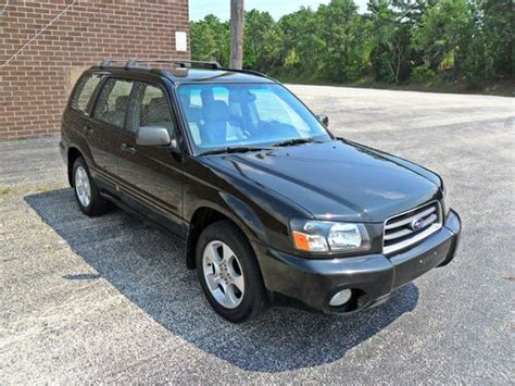2003 subaru forester engine for sale buy used 2003 subaru forester xs 2 5l no reserve one