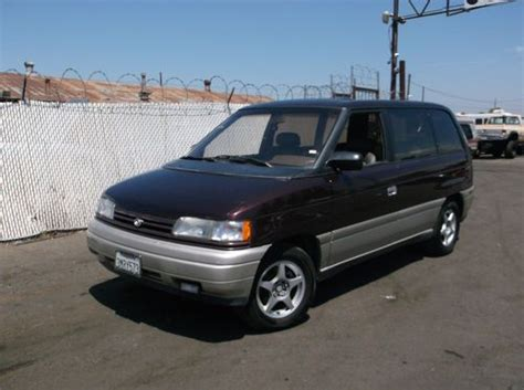 how cars engines work 1995 mazda mpv security system sell used 1995 mazda mpv no reserve in orange california united states