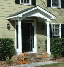 Front Door Porticos Simple Portico For Clapboard Sided Home Designed By Front Porch Porticos With Curb