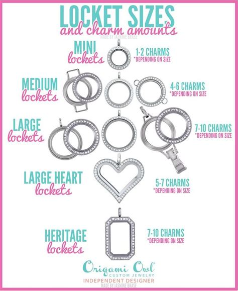 Origami Owl Sizes - 30 best images about origami owl 174 living lockets on
