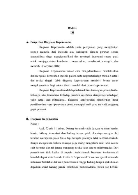 format analisa jurnal keperawatan makalah metodologi keperawatan