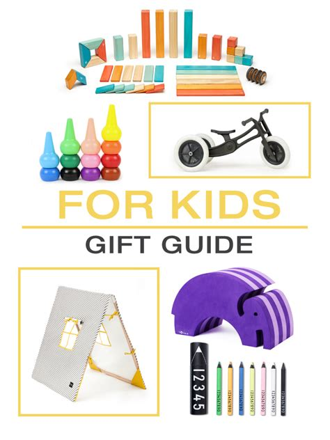 design milk gift guide 2015 gift guide kids design milk