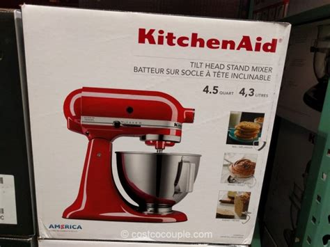 costco kitchen aid mixer kitchenaid 4 5 quart tilt stand mixer