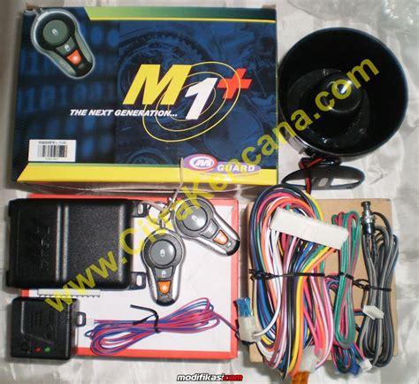 Alarm Mobil M1 baru promo paket alarm mobil bergaransi
