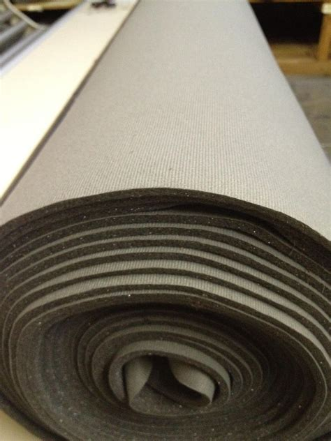 automotive upholstery foam auto headliner upholstery fabric with foam backing 120 quot x 60 quot light charcoal ebay