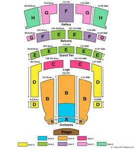 Orpheum Floor Plan Les Miserables Theater Tickets Clickitticket