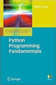 fundamentals of python programs books python programming fundamentals undergraduate topics in