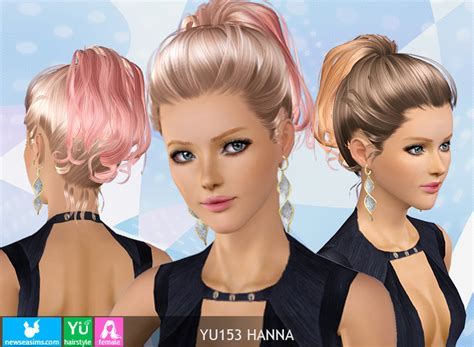 download hair female the sims 3 hairstyle donate newsea