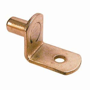Shelf Pegs Home Depot by Prime Line 20 Lb 5 Mm Brass L Shelf Pegs 8 Pack U 10170 The Home Depot
