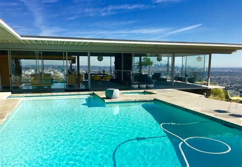 a small mid century modern house in hollywood richard the modern postcard travel blog the stahl house hollywood