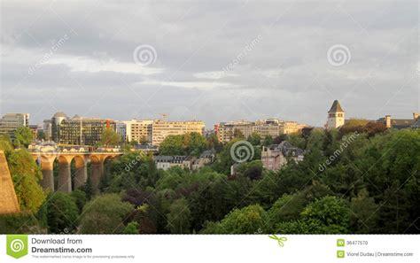 Lu City Z luxembourg city stock photo image 36477570