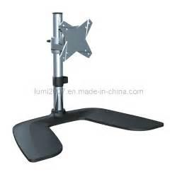 Vesa Mount Desk Stand Lcd Tv Desk Mount Bracket With 75x75 100x100 Vesa Plate
