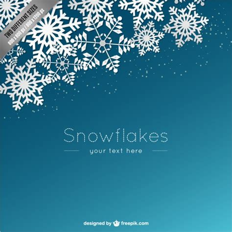 printable blue snowflakes snowflake border vectors photos and psd files free download