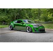 Wallpaper Green Tuning Toyota Gt86 Images For Desktop