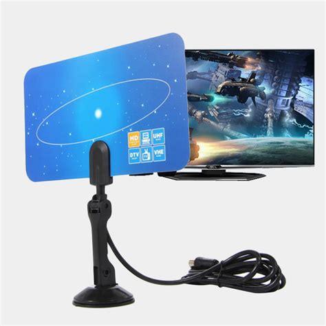 lot long  mile digital indooroutdoor tv antenna hdtv dtv hd vhfuhf usa ship