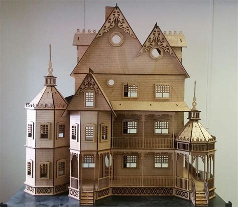 victorian doll house kit ashley ii gothic victorian mansion dollhouse very large kit