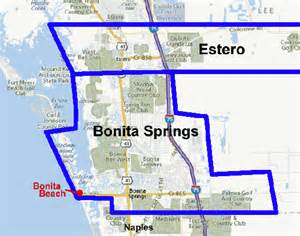 where is bonita springs florida on a map naples bonita springs and southwest florida