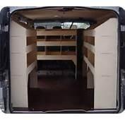 Wooden Van Shelving Systems