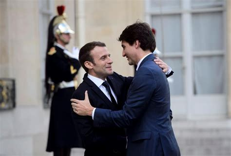 justin trudeau can t take any more foreign justin trudeau discusses mali peacekeeping mission with macron jean national observer