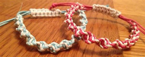 Handmade Crafts To Sell - personalized macrame bracelets handmade