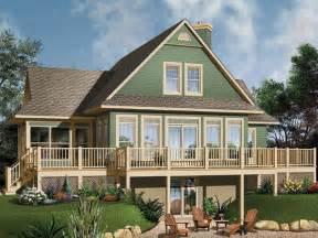 house plans waterfront waterfront house plan 027h 0104 dream lake escape