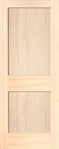 Poplar Mission 2 Panel Wood Interior Doors Homestead Doors 2 Panel Interior Wood Doors