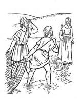 Blind Barnabas New Testament Coloring Pages Bible Printables