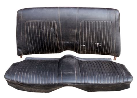 used seats 1967 1969 camaro rear seat assembly coupe gm original used