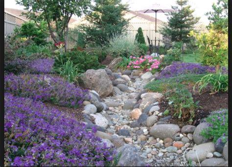 backyard dry river bed dry river bed garden pinterest