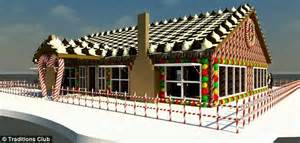 Homes Decorated For Christmas On The Inside guinness world record setting gingerbread house is big