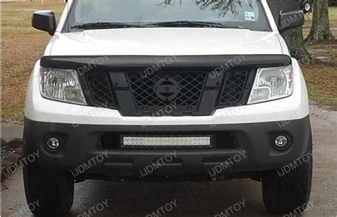 nissan frontier bull bar with lights led light bar combo system for 2004 up 2nd gen nissan frontier