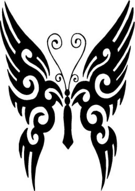 dark star black military red tribal pattern clips coat tribal butterfly tattoo vector free download